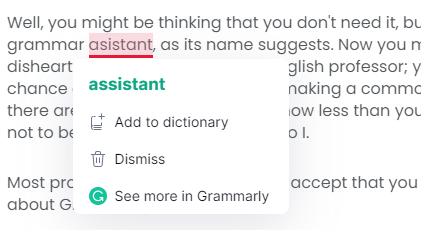 You need Grammarly, and You can't deny it